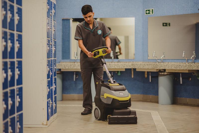 Empresa de limpeza em academias