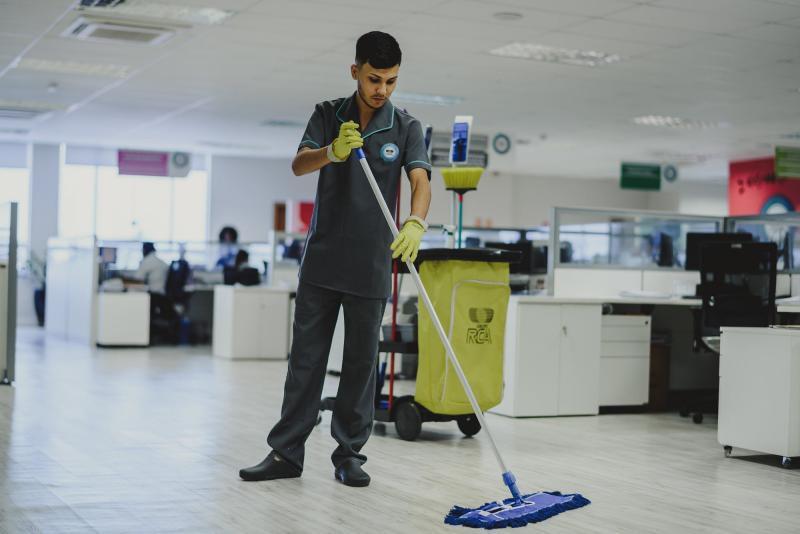 Empresa de limpeza de escritorio