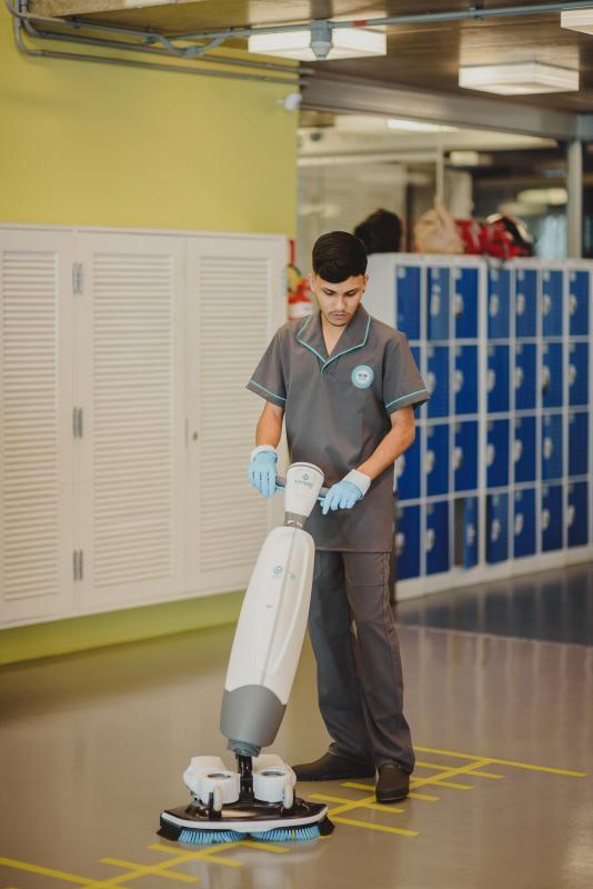 Empresa de limpeza de faculdade