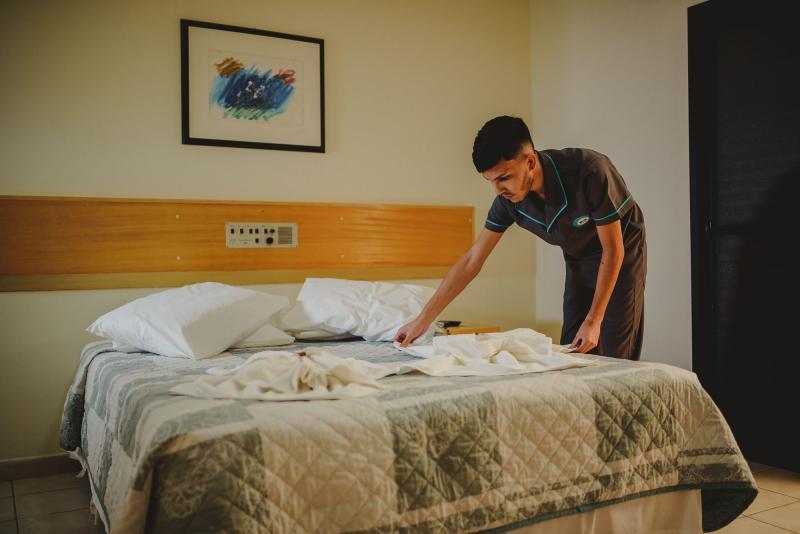 Empresa de limpeza em hotéis