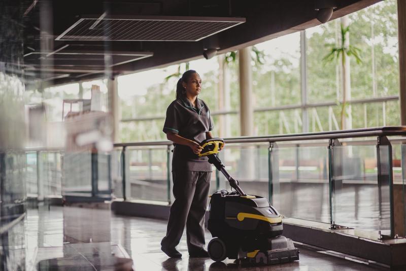Empresa prestadora de serivços limpeza